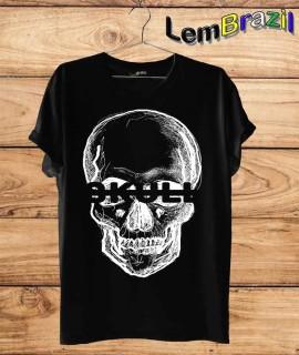 Camiseta Skull LemBrazil. Camiseta 100% Algodão personalizada com Impressão Digital garantindo maior durabilidade e conforto!