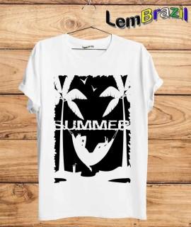 Camiseta Summer LemBrazil. Camiseta 100% Algodão personalizada com Impressão Digital garantindo maior durabilidade e conforto!