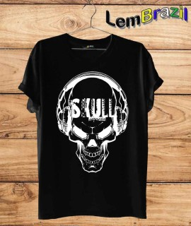 Camiseta Skull 2 LemBrazil. Camiseta 100% Algodão personalizada com Impressão Digital garantindo maior durabilidade e conforto!