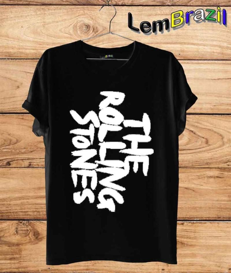 Camiseta The Rolling Stones LemBrazil