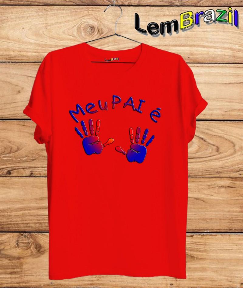 Camiseta Pai Descolado LemBrazil. Agora a LemBrazil tem confecção própria! Camiseta 100% Algodão 30/1 fio penteado com reforço ombro a ombro, Camisetas de primeira linha, garantindo ainda mais durabilidade e conforto!