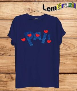 Camiseta LemBrazil Pai. Agora a LemBrazil tem confecção própria! Camiseta 100% Algodão 30/1 fio penteado com reforço ombro a ombro, Camisetas de primeira linha, garantindo ainda mais durabilidade e conforto!