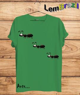 Camiseta Ants LemBrazil. Agora a LemBrazil tem confecção própria! Camiseta 100% Algodão 30/1 fio penteado com reforço ombro a ombro, Camisetas de primeira linha, garantindo ainda mais durabilidade e conforto!