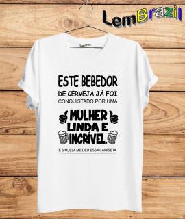 Camiseta Este Bebedor LemBrazil