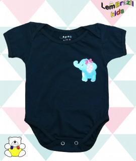 Body Elefante LemBrazil Kids, Modelos exclusivos LemBrazil Kids! Com a mesma qualidade das Camisetas Personalizadas LemBrazil,
