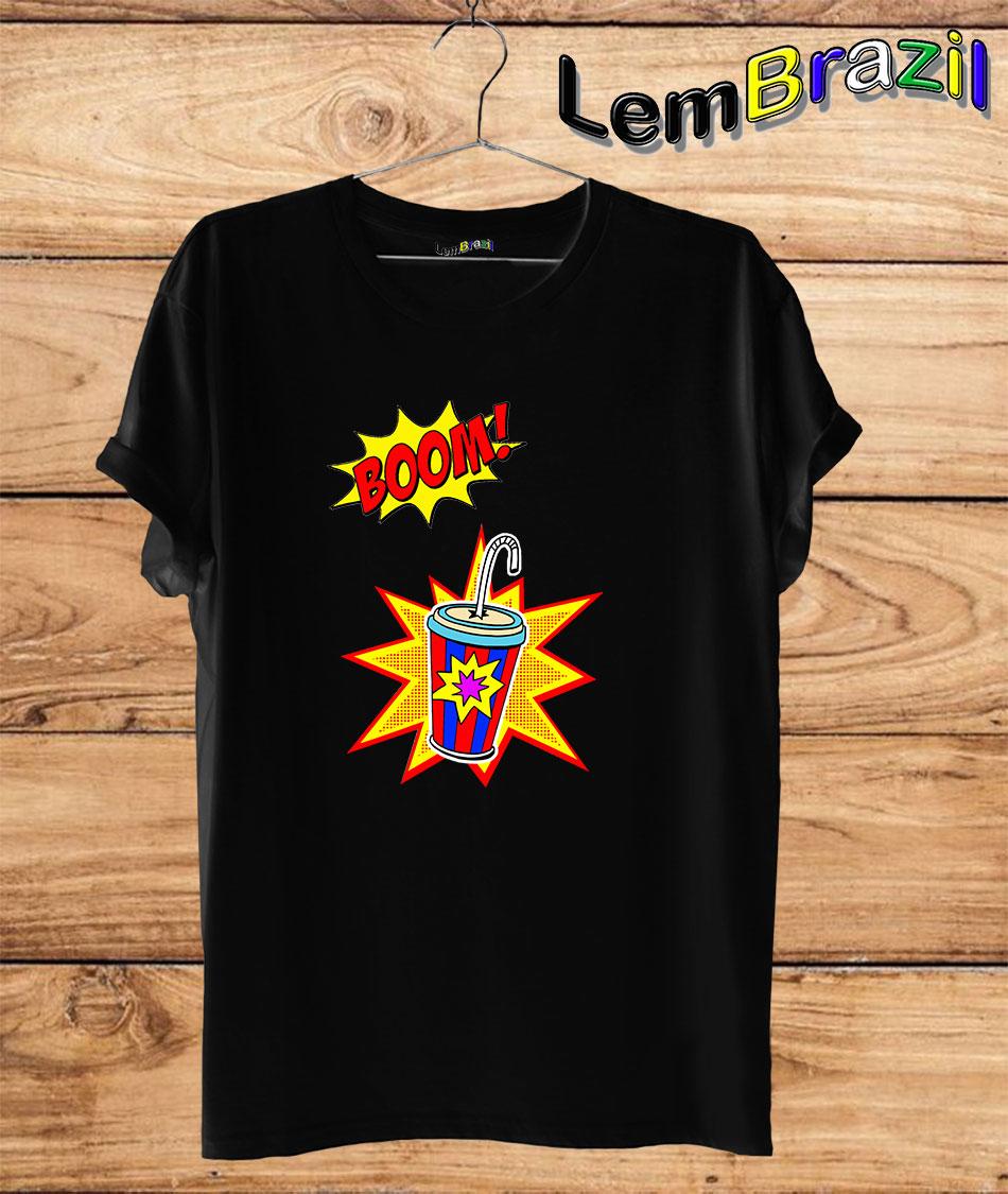 Camiseta Boom LemBrazil