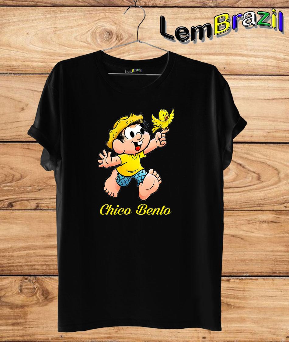 Camiseta Chico Bento LemBrazil. Camiseta 100% Algodão personalizada com Impressão Digital garantindo maior durabilidade e conforto!