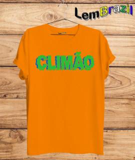 Camiseta Climão LemBrazil. Agora a LemBrazil tem confecção própria! Camiseta 100% Algodão 30/1 fio penteado com reforço ombro a ombro, Camisetas de primeira linha