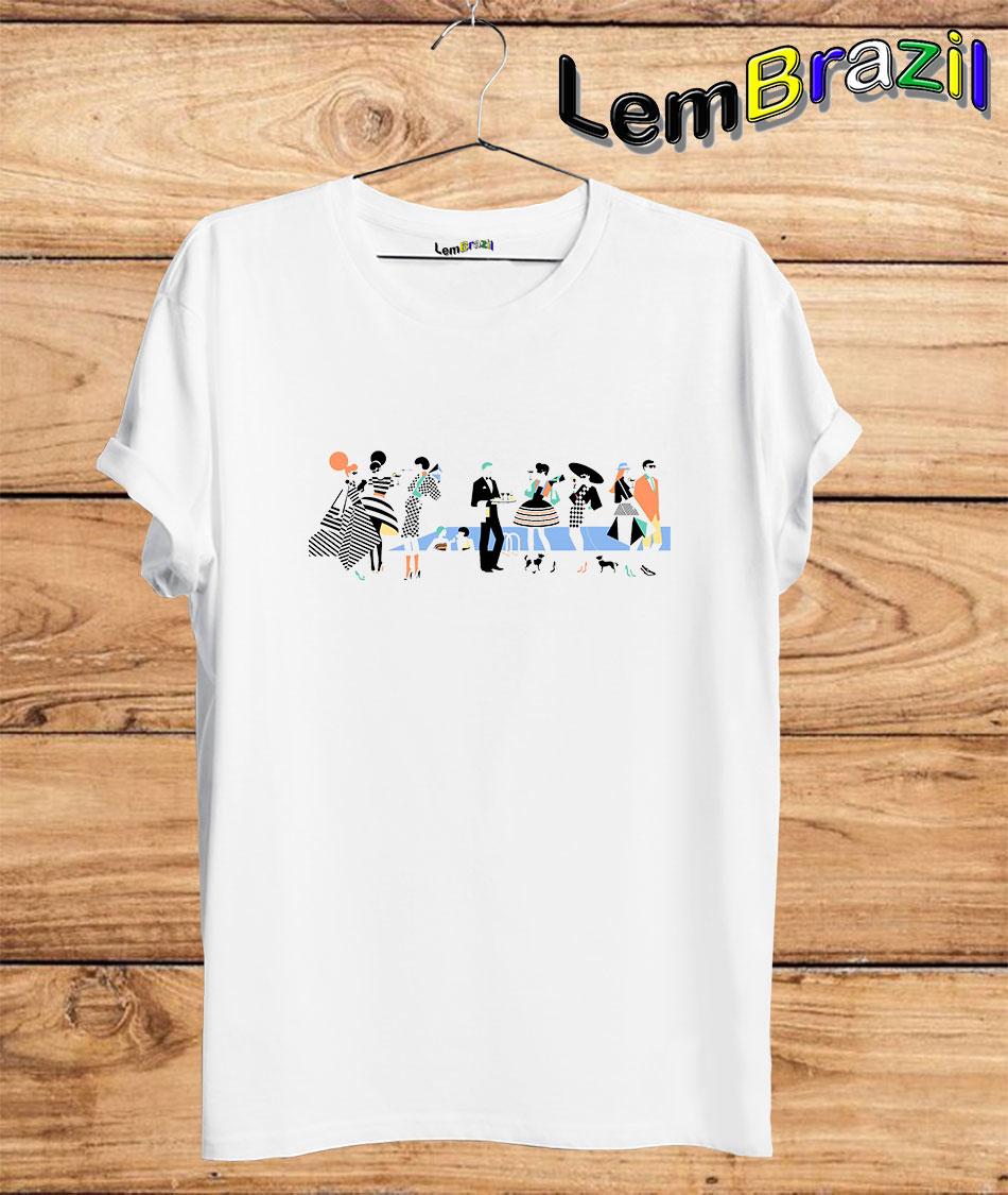 Camiseta Festa LemBrazil. Agora a LemBrazil tem confecção própria! Camiseta 100% Algodão 30/1 fio penteado com reforço ombro a ombro, Camisetas de primeira linha, garantindo ainda mais durabilidade e conforto!