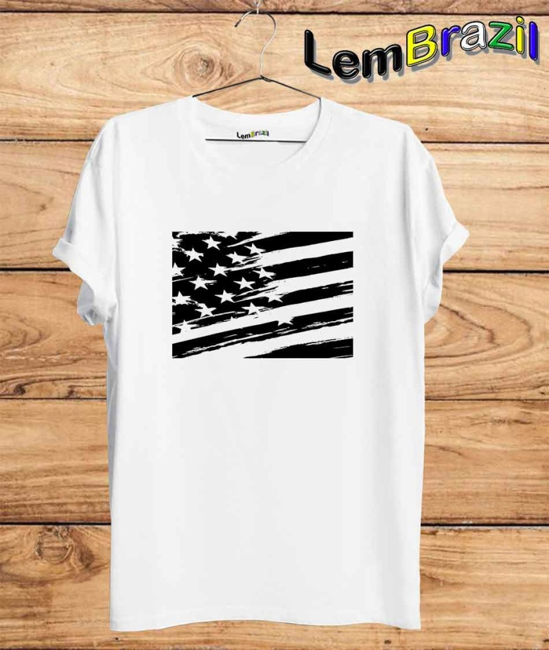Camiseta EUA LemBrazil