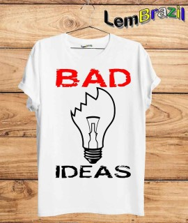 Camiseta Bad Ideas LemBrazil