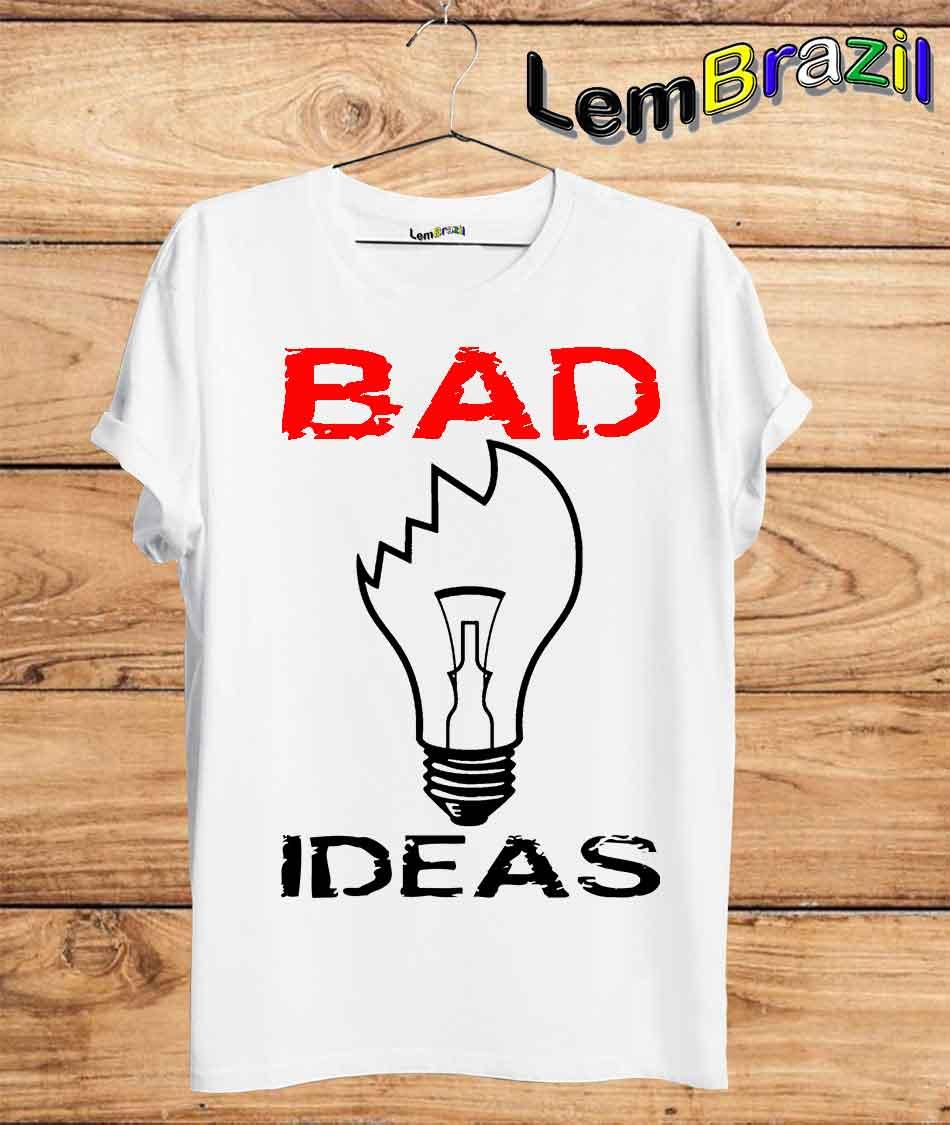 Camiseta Bad Ideas LemBrazil