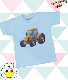 Camiseta Trator LemBrazil Kids, Modelos exclusivos LemBrazil Kids! Com a mesma qualidade das Camisetas Personalizadas LemBrazil,