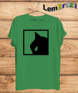 Camiseta Gato LemBrazil. Agora a LemBrazil tem confecção própria! Camiseta 100% Algodão 30/1 fio penteado com reforço ombro a ombro, Camisetas de primeira linha, garantindo ainda mais durabilidade e conforto!
