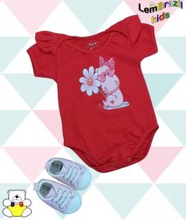 Body Rinoceronte Rosa LemBrazil kids, Modelos exclusivos LemBrazil Kids! Com a mesma qualidade das Camisetas Personalizadas LemBrazil,