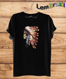 Camiseta Índio Lembrazil. Camiseta 100% Algodão personalizada com Impressão Digital garantindo maior durabilidade e conforto!