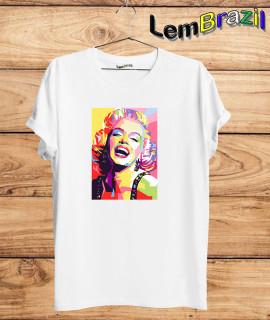 Camiseta Marilyn Monroe LemBrazil
