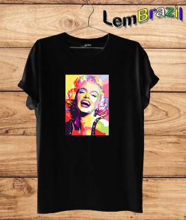 Camiseta Marilyn Monroe LemBrazil. Camiseta 100% Algodão personalizada com Impressão Digital garantindo maior durabilidade e conforto!