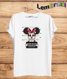 Camiseta Minnie Presa LemBrazil. Camiseta 100% Algodão personalizada com Impressão Digital garantindo maior durabilidade e conforto!