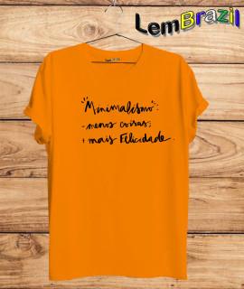 Camiseta Minimalismo LemBrazil. Agora a LemBrazil tem confecção própria! Camiseta 100% Algodão 30/1 fio penteado com reforço ombro a ombro, Camisetas de primeira linha, garantindo ainda mais durabilidade e conforto!