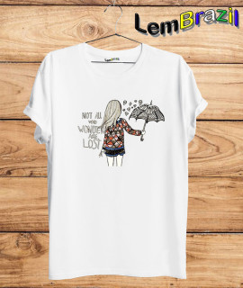 Camiseta Not All who Wonder Are Lost LemBrazil