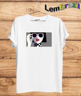 Camiseta Oculos LemBrazil. Agora a LemBrazil tem confecção própria! Camiseta 100% Algodão 30/1 fio penteado com reforço ombro a ombro, Camisetas de primeira linha, garantindo ainda mais durabilidade e conforto!