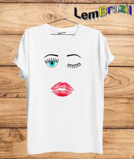 Camiseta Piscadinha LemBrazil. Camiseta 100% Algodão personalizada com Impressão Digital garantindo maior durabilidade e conforto!