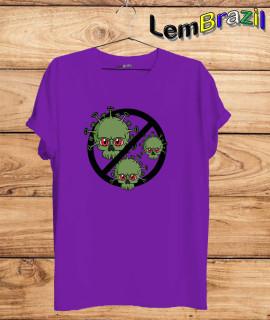 Camiseta Proibido Covid LemBrazil. Agora a LemBrazil tem confecção própria! Camiseta 100% Algodão 30/1 fio penteado com reforço ombro a ombro, Camisetas de primeira linha, garantindo ainda mais durabilidade e conforto!