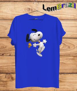 Camiseta Snoopy LemBrazil. Agora a LemBrazil tem confecção própria! Camiseta 100% Algodão 30/1 fio penteado com reforço ombro a ombro, Camisetas de primeira linha