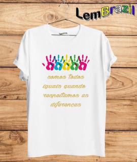Camiseta Somos Todos Iguais LemBrazil