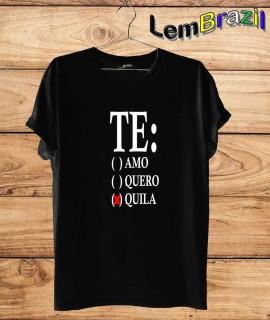 Camiseta Tequila LemBrazil. Camiseta 100% Algodão personalizada com Plotter de Recorte garantindo maior durabilidade e conforto!