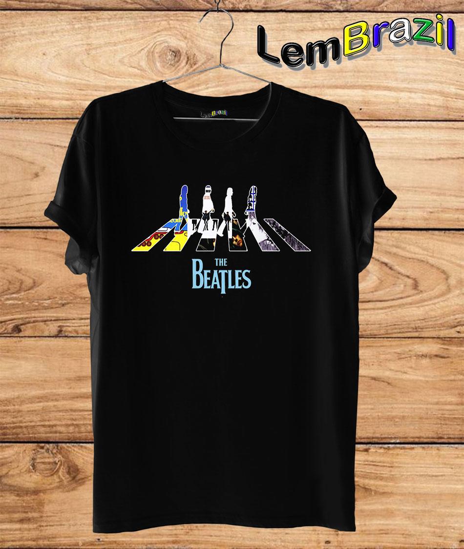 Camiseta The Beatles 2 LemBrazil. Camiseta 100% Algodão personalizada com Plotter de Recorte garantindo maior durabilidade e conforto!