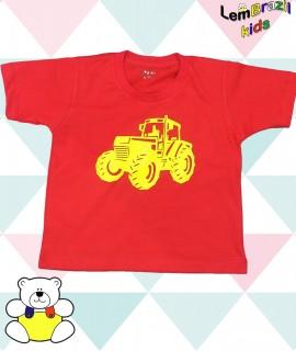 Camiseta Trator Amarelo LemBrazil Kids, Modelos exclusivos LemBrazil Kids! Com a mesma qualidade das Camisetas Personalizadas LemBrazil,