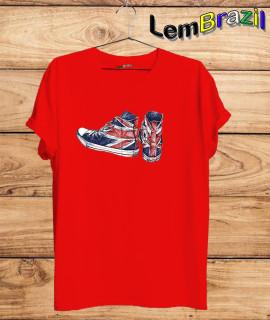 Camiseta Tênis LemBrazil. Agora a LemBrazil tem confecção própria! Camiseta 100% Algodão 30/1 fio penteado com reforço ombro a ombro, Camisetas de primeira linha, garantindo ainda mais durabilidade e conforto!