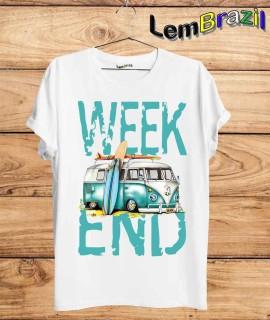 Camiseta Week End LemBrazil. Camiseta 100% Algodão personalizada com Impressão Digital garantindo maior durabilidade e conforto!