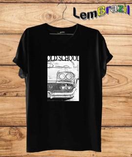 Camiseta Old School LemBrazil. Camiseta 100% Algodão personalizada com Impressão Digital garantindo maior durabilidade e conforto!