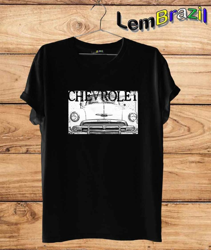 Camiseta Chevrolet LemBrazil. Camiseta 100% Algodão personalizada com Impressão Digital garantindo maior durabilidade e conforto!